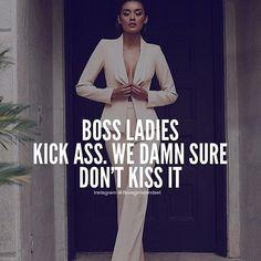 """Boss Girls Mindset on Instagram: """"Double Tap if you're gonna kick ass today! 👠 __ #bossbabe #girlboss #ladyboss #hustlehard #mompreneur #shewins #bosslife #ambition…"""""""