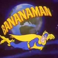 Bananaman - This is 29 Acacia road. Classic Cartoon Characters, Classic Cartoons, 1980s Childhood, My Childhood Memories, Kids Tv Shows, 90s Cartoons, 90s Nostalgia, 80s Kids, 1980s Tv