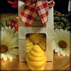 Candles by Victoria - Highly Scented Candles & Wax Tarts - Four Mini Cupcake Melts Candles By Victoria, Sprinkles Recipe, Car Freshener, Wax Tarts, Handmade Candles, Candle Wax, Mini Cupcakes, Scented Candles, Fragrance