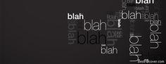 blah blah Facebook timeline profile cover