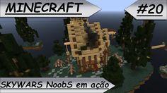 MINECRAFT Skywars NoobS em ação!! #20
