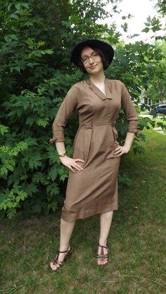 Vintage 60s Dress Wiggle Bombshell Mad Men S by soulrust on Etsy, $79.99