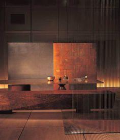 Tea ceremony space by Takashi Sugimoto