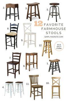 Favorite Farmhouse Stools | simplykierste.com
