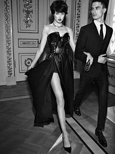 Vogue Russia September 2014   Lindsey Wixson by Alexi Lubomirski   Fashion Editor: Olga Dunina