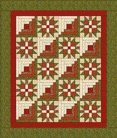 Chock-A-Block Quilt Blocks: New England Block