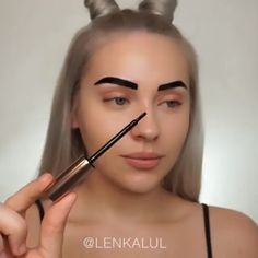Type of natural makeup + brow tinting - 18 beauty makeup Tutorial ideas Cute Makeup, Gorgeous Makeup, Pretty Makeup, Cheap Makeup, Sleek Makeup, Minimal Makeup, Eyebrow Makeup, Skin Makeup, Beauty Makeup