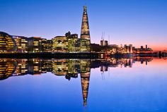 Reflections: London along the River Thames