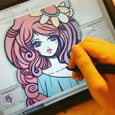 working working! trying to make my deadline  only a bit longer to be able to preorder my sketchbook for $20! once I finish and send to the printer the price will go up  PM me for the preorder link! 50 pages filled with colorful concept drafts and doodles of my work from over the last 7 years cleaned and retouched to make them extra yummy  by misskika You can follow me at @JayneKitsch
