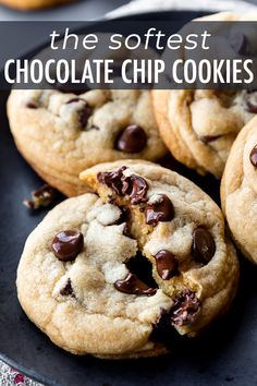 Chewy Chocolate Chip Cookie Recipe Without Baking Soda.Chocolate Chip Cookie Recipe Without Baking Soda Or Baking . The BEST Chocolate Chip Cookies Soft Chewy And . Recipes For Chocolate Chip Cookies Without Baking Soda. Chocolate Chip Cookies Rezept, Chocolate Cookie Recipes, Best Chocolate Chip Cookie, Easy Cookie Recipes, Baking Recipes, Dessert Recipes, Chocolate Snacks, Chocolate Morsels, Cookie Ideas
