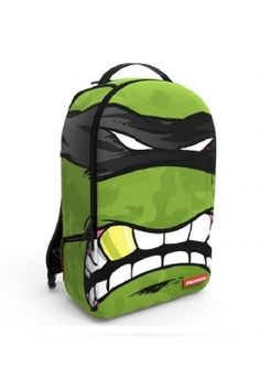 Sprayground - Rebel Mask | Let's be honest, the only thing you need to go with this awesome design from Sprayground is your best buddies and whole lotta take away pizza! Available now @ Urban Celebrity (the backpack that is - not the pizza...)