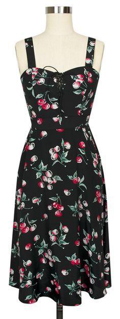 The Trashy Diva Dorothy Dress in Cherries!