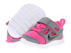 Nike Kids Free Run 5.0 (TDV) (Infant/Toddler) Pink Foil/Cool Grey/White/Black - Zappos.com Free Shipping BOTH Ways