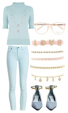 """""""Untitled #359"""" by mistress-webb ❤ liked on Polyvore featuring Oasis, Charlotte Russe, Barbour, Fabrizio Viti and Chloé"""