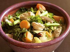 Does chicken soup cure a cold? Try this healthy immune-boosting soup recipe when you're feeling groggy.