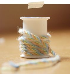 Tutorial: How to make striped yarn/ rope