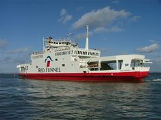 Red Funnel ferry to Isle of Wight