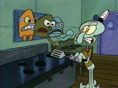 Spongebob Memes, Cartoon Memes, Spongebob Squarepants, Cartoon Art, Cartoons, Squidward Tentacles, Pineapple Under The Sea, Cartoon Tv Shows, Sponge Bob