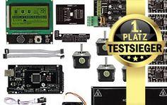 3D-Drucker-Bausatz - Testsieger - SainSmart 3D Printer KIT Ramps 1.4 - 3D Drucker selber bauen - http://www.bester-3d-drucker.com