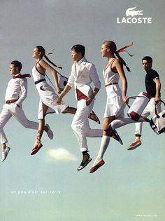 Lacoste, where fashion takes flight