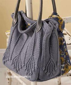 Forever Autumn - handknit leafy purse / handbag in burnt orange - Crochet Brazil Crotchet Bags, Knitted Bags, Crochet Handbags, Crochet Purses, Crochet Motifs, Knit Crochet, Diy Purse, Handmade Bags, Leather Handle