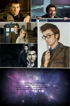 David Tennant, the tenth doctor