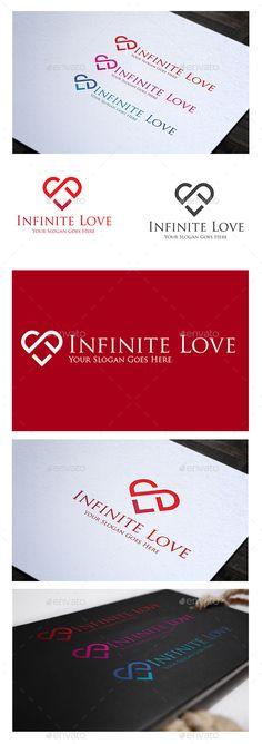 Infinite Love - Logo Design Template Vector #logotype Download it here: http://graphicriver.net/item/infinite-love-logo-/8879289?s_rank=1091?ref=nexion