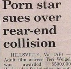 Funny Newspaper Headlines | Funny Newspaper Headlines (20). After all the bad news we still can't believe papers print stuff like this.