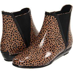 rain slip on booties / loeffler randall  these are so cute!