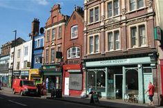 Gloucester Road and Stokes Croft - unusual shops & cafés. A real quirky and bohemian addition to Bristol's shopping areas. Also Street Art and live music.