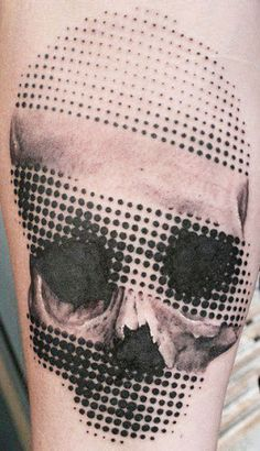 Abstract Skull Tattoo by Image Artcore?