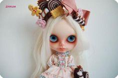 OOAK Custom Neo Blythe Art Doll Reroot Suri Alpaca Sweet Cookies | eBay