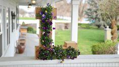 Monogram Flower Planter // Garden Answer