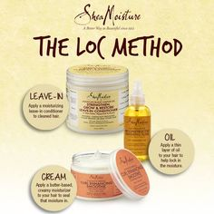 How to: The LOC Method with SheaMoisture.
