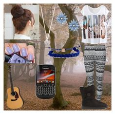 """""""Thirteen"""" by onethatrunwithwolves ❤ liked on Polyvore featuring Beacon, Ally Fashion, UGG Australia, Pin Show, Accessorize, R.J. Graziano and Domo Beads"""