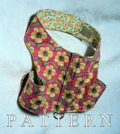 Dog harness pattern sewing leash instructions par WarmWeenies