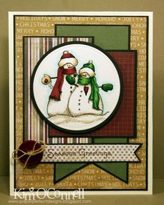 Paper Perfect Designs: TSG180 and MOJO266 - Snowy Seasons Greetings