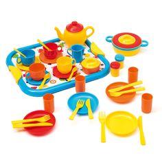 Dînette des petits 40 pièces Imagibul création Oxybul pour enfant de 1 an et demi à 4 ans - Oxybul éveil et jeux