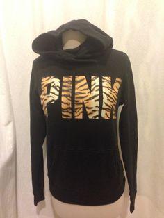 Victoria's Secret Tiger Cowl Neck / Funnel Neck Sweater