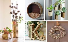 When it comes to craft and decorating projects, wine corks are always crowd pleasers. They're so versatile and have such