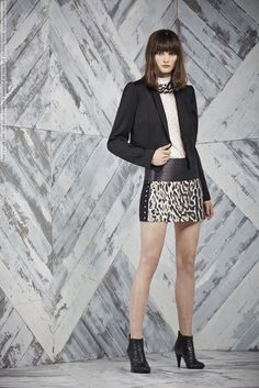 Just Cavalli (Pre-Fall 2014) lookbook presented at New York Fashion Week  #fashion #model #beauty #clothes #fashionable #weheartit #style #shoes