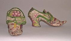 Shoes, ca. 1730; MMA 1992.273a, b