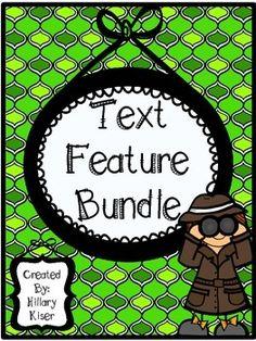 30 Page Text Feature Bundle!