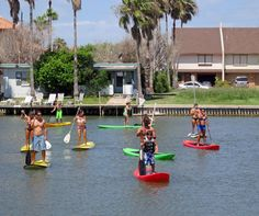 Stand Up Paddleboard South Padre Island