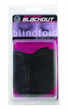 Total Blackout Blindfold - Full coverage blindfold with very soft fabric lining.