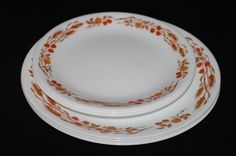 Corelle Harvest Home dinner and luncheon plates