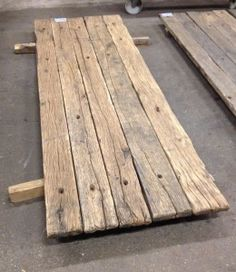 Gerealiseerde oud eiken meubels - Meubelmakerij d'Aulnis
