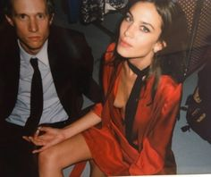 Alexa Chung hails this season's new must-have, the red dress