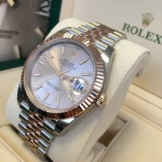 Ever thought Rolex should match a Jubilee bracelet with a 41mm case?