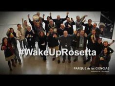 "A mashup of Rosetta's wakeup videos. ESA asked the public for wake-up videos for Rosetta. They are now saying ""The rules were simple: take out your mobile phone and record a 'selfie' of you shouting ""Wake up, Rosetta!"" But you were far more creative than that… "" Mona Evans, ""Rosetta the Comet Chaser"" http://www.bellaonline.com/articles/art182574.asp"